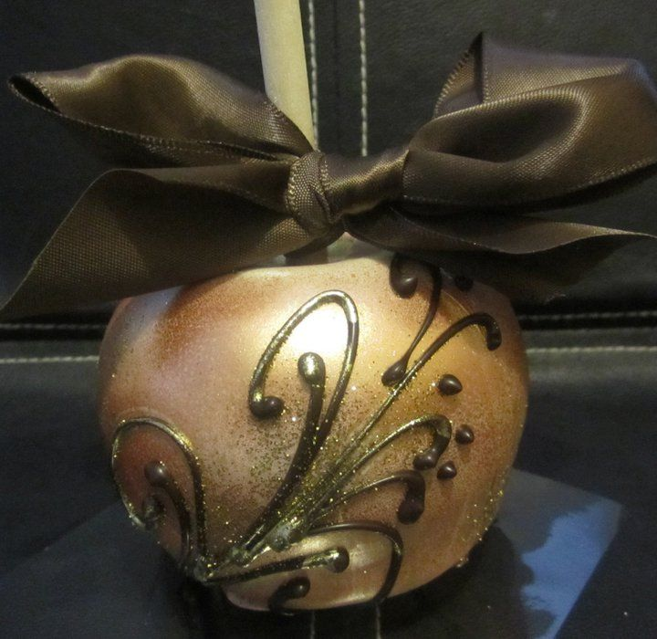 THESE ARE GENIUS FOR WEDDING FAVORS!!! GOURMET CANDY APPLES!!!