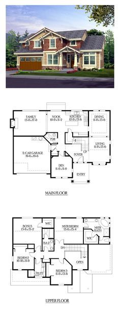 Shingle Style COOL House Plan ID: chp-39270 | Total Living Area: 2565 sq. ft., 3 bedrooms 2.5 bathrooms.