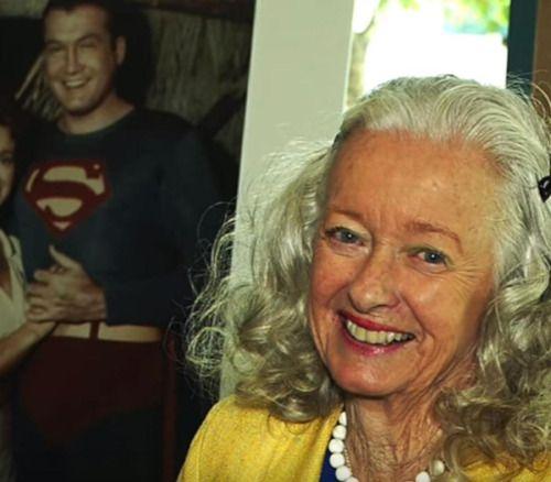 Muere la primera actriz que interpretó a la novia de Superman -...