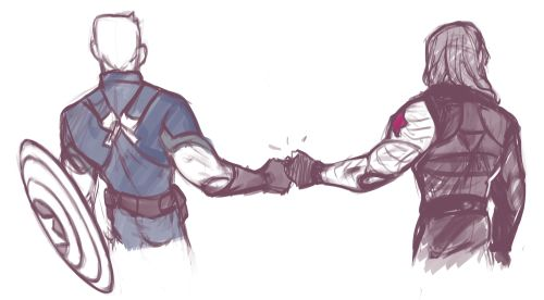 Capitan America and Winter Soldier