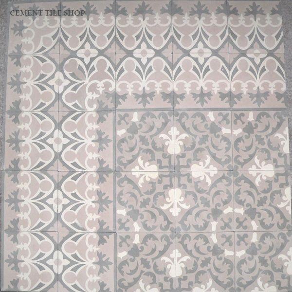Cement Tile Shop - Encaustic Cement Tile CH220-2A