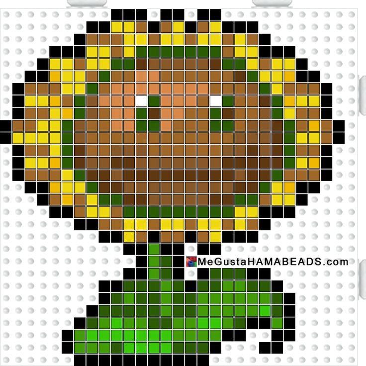 hamabeads sunflower