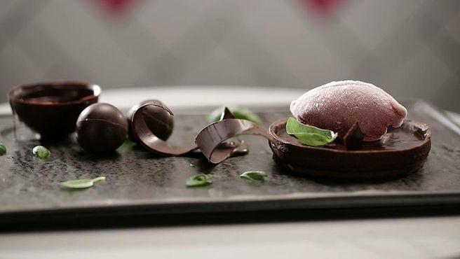 Chilli Chocolate Ganache tart