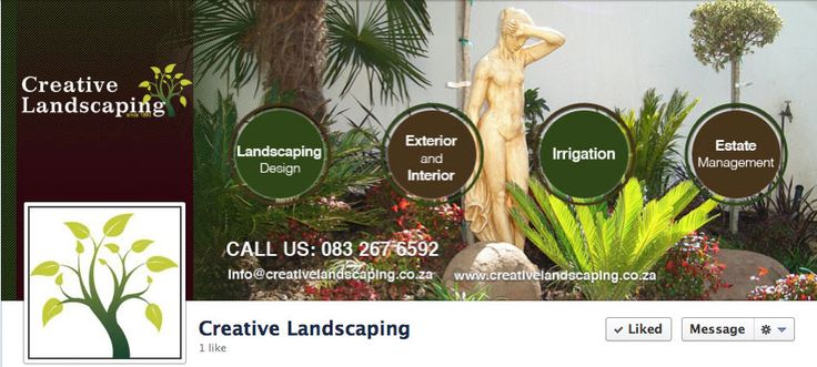 Creative Landscaping Facebook Cover & Profile Picture