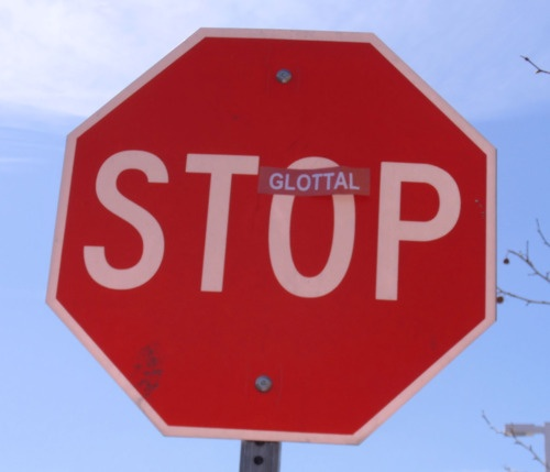 glottal stop..this is GREAT!!