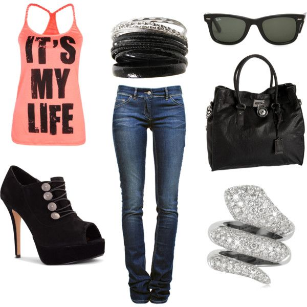 IT'S MY LIFE, created by kwest2523 on #PolyvoreFuture Closets, Clothes'S Mi Style, Myy Stylee, Gotta Finding, Outfit, Clothes'S Accessories, Pinterest Closets, Dreams Wardrobes, Dreams Closets