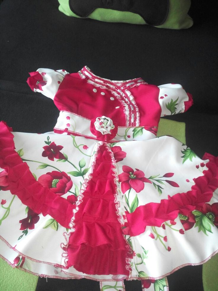 Vestido de huasa talla 6