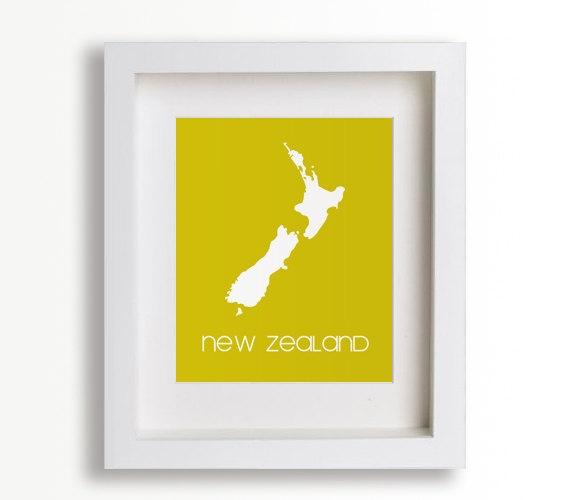 Baby's First Art Print  New Zealand 8x10  Children by NikoAndLily