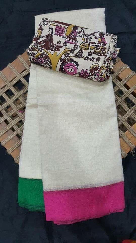 Sico sareees with kalamkari blouses  Price:1899+$ Order what's app 7995736811
