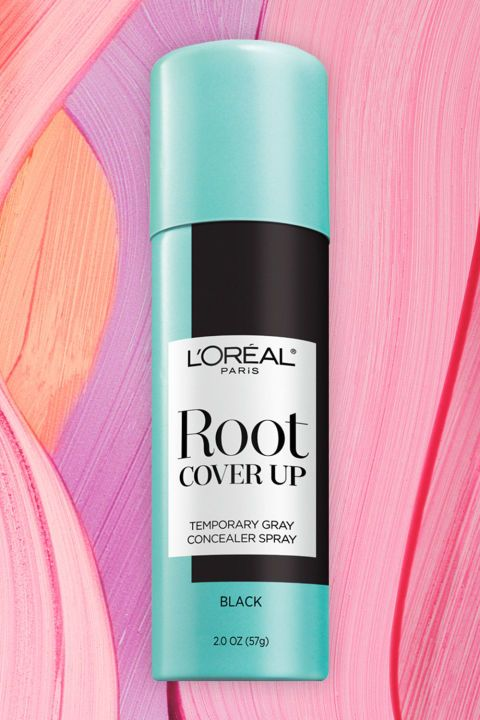 Visible roots aren't as taboo as they once were, but if you're feeling a little self-conscious, try a DIY temp job in between salon touch-ups. Just spray and comb through to blend the color with your natural hair, and when the day's over, rinse it out with your shampoo. This formula is non-sticky and ammonia-free, and you might find yourself extending time between those salon visits... Root Cover Up Concealer Spray, L'ORÉAL PARIS, $10.99