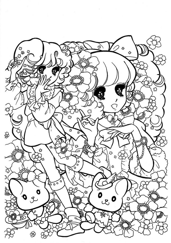 566 best Shoujo Coloring images on Pinterest Coloring pages