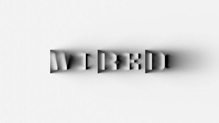 WIRED UK commissioned Beetroot to create the 100th issue's masthead logo.The WIRED logo composed by pure reflections shadows, casted by dimensionless surfaces. Typography that exist only in a brief moment, in a very specific light angle.