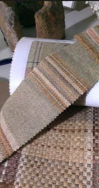 Colefax and Fowler's Tay Stripe (part of a client concept for a commercial space)
