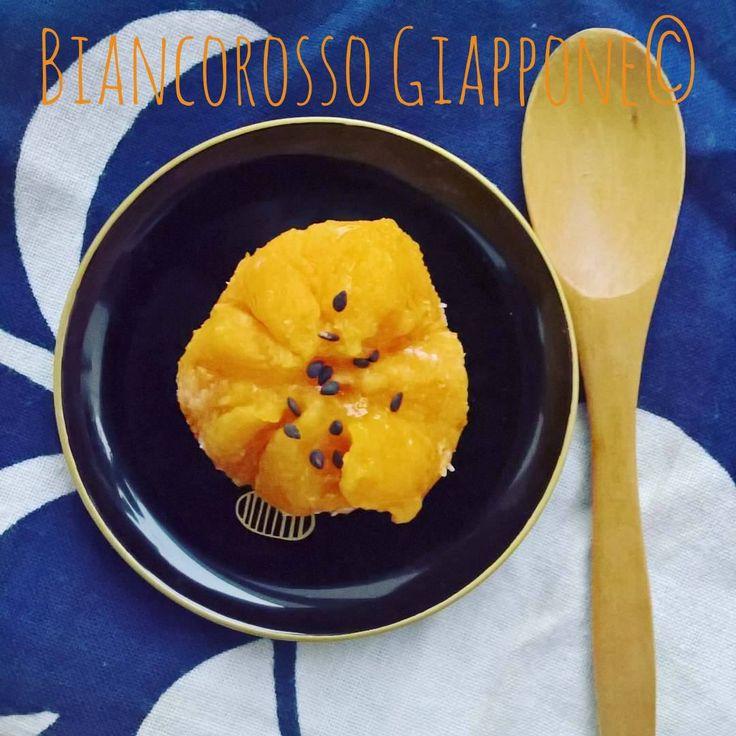 L'amata ricetta dei Kabochakin, i dolcetti autunnali di zucca. Questa è una delle più famose ricette di Biancorosso Giappone!