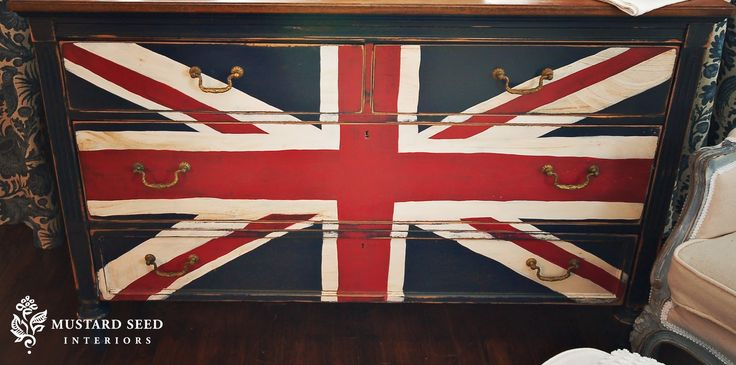 union jack from missmustardseed blogDecor, Painting Furniture, Miss Mustard Seeds, Painted Dressers, Jack O'Connel, Boys Room, Painting Dressers, Chest Of Drawers, Union Jack Dressers
