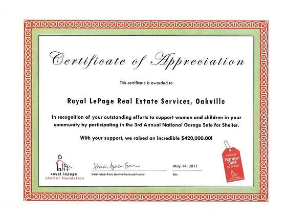 Awards and Designations - Cathey Mills, Royal LePage Real Estate Services Ltd.