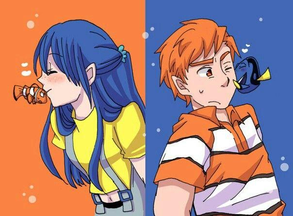 Buscando a Nemo:Anime