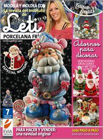 Modelar en PORCELANA FRIA Nº 07 - 2014 pedi esta edicion en www.eviaediciones.com #manualidades