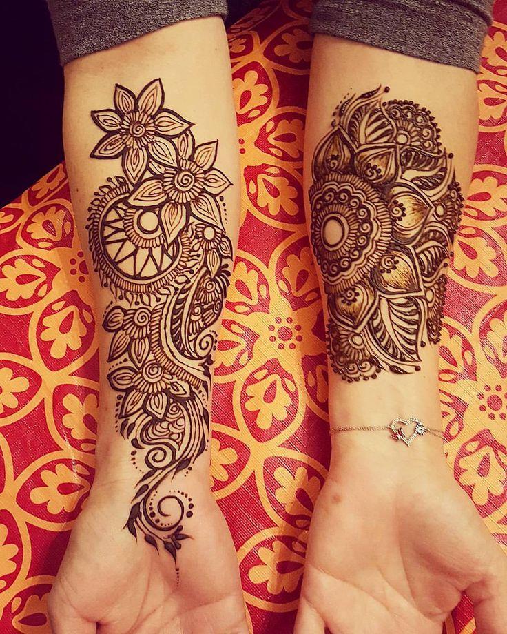 die besten 25 henna armt towierung ideen auf pinterest henna arm henna tattoo handgelenk und. Black Bedroom Furniture Sets. Home Design Ideas