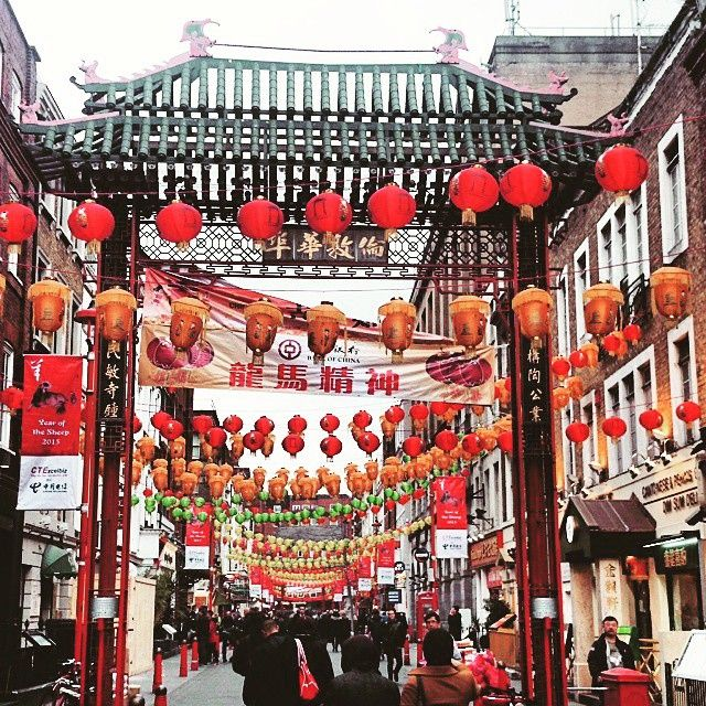 Visit two cities at the same time! #ChinaTown in #London #ESLAdventure Ph courtesy: @hezurtxo
