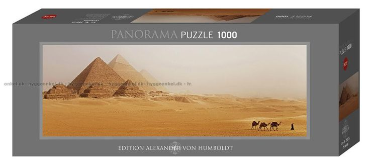 Humboldt: Pyramiderna - Panorama, 1000 bitar by Boardgamer
