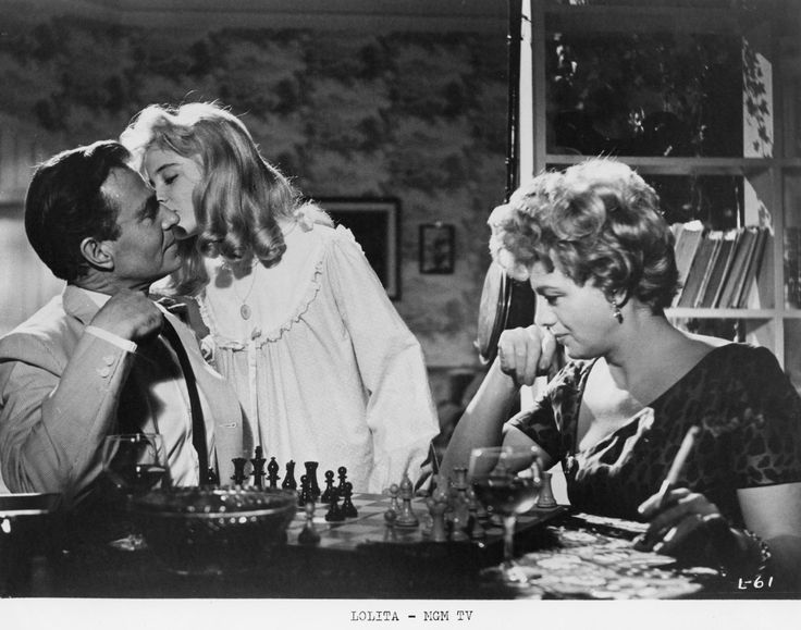 """""""Лолита"""" / """"Lolita"""" (реж. Стэнли Кубрик, США, Великобритания, 1962) #лолита #кубрик #фильм"""