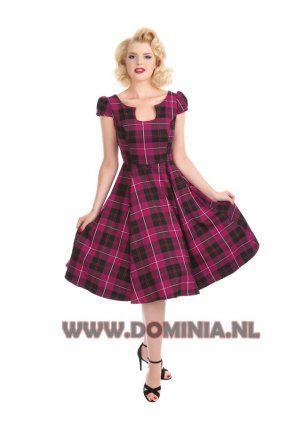 Tartan jurk