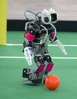 The World Cup isn't over. Not for robots at least.