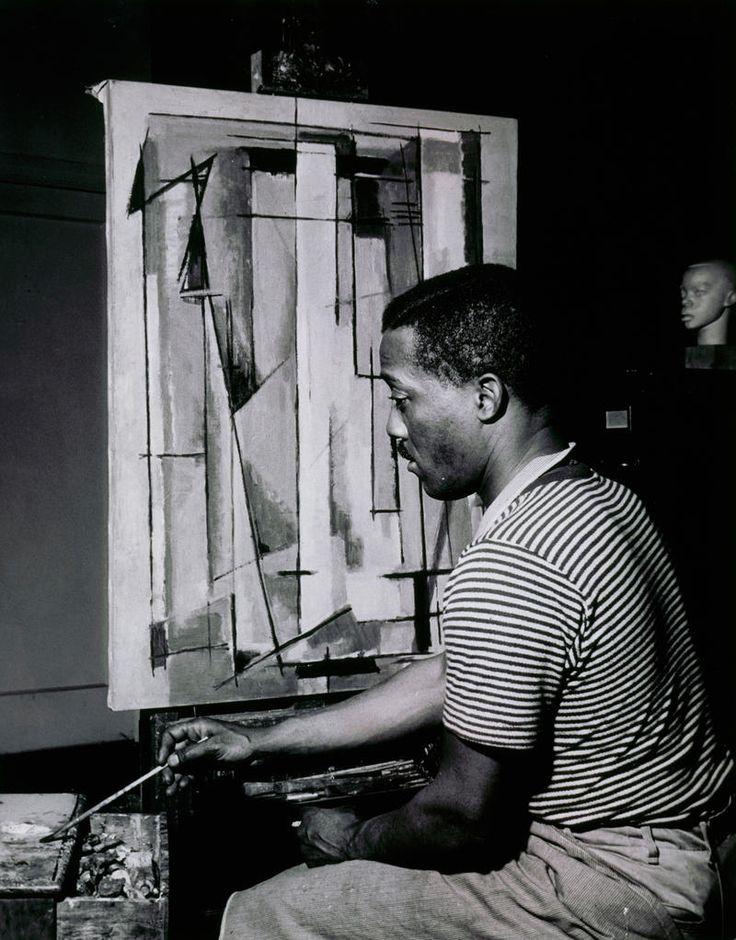 Finally...A Museum Retrospective of Norman Lewis' Striking Art World