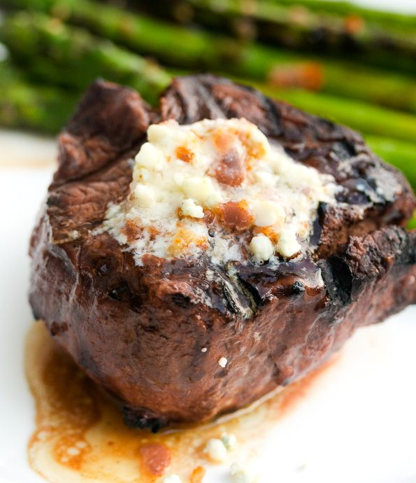 Blue cheese butter, Blue cheese and Grilled steaks on Pinterest