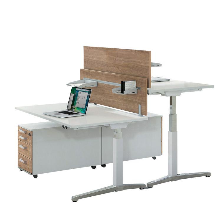 Sit Stand Desk Office Workstations And Desks On Pinterest