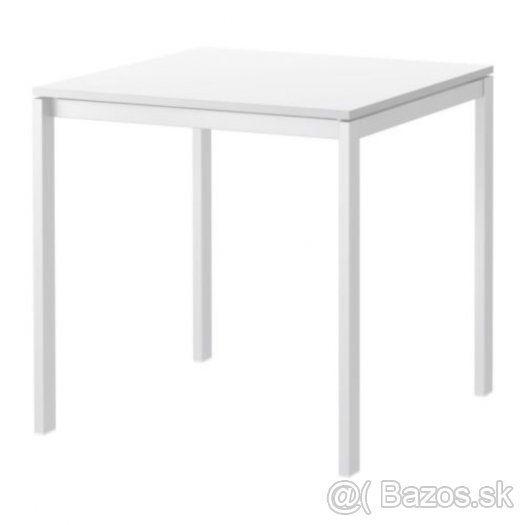 MELLTORP/Ikea stôl 75x75 cm biely - 1