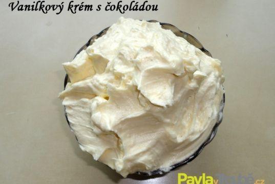 Krém vanilkový s bílou čokoládou