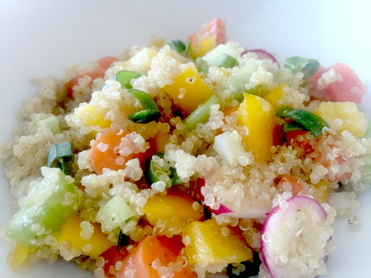 Quickie Quinoa Bowl - aka healthy fast food!