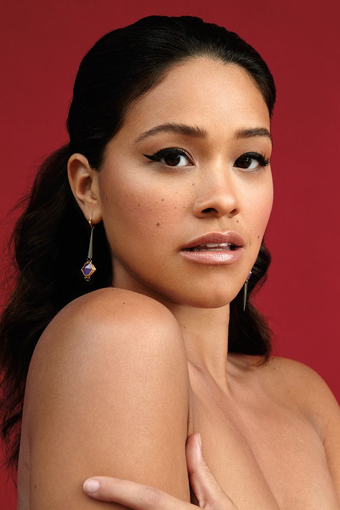 "Gina Rodriguez | ""My father used to tell me to say every morning, 'Today is going to be a great day. I can and I will.' Well, Dad - Today is a great day. I can and I did."""