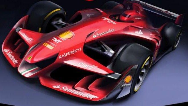 Desain Mobil Balap Masa Depan Milik Ferrari