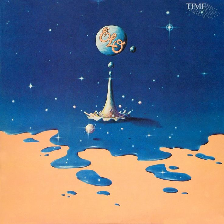 Album Cover: Electric Light Orchestra, Time