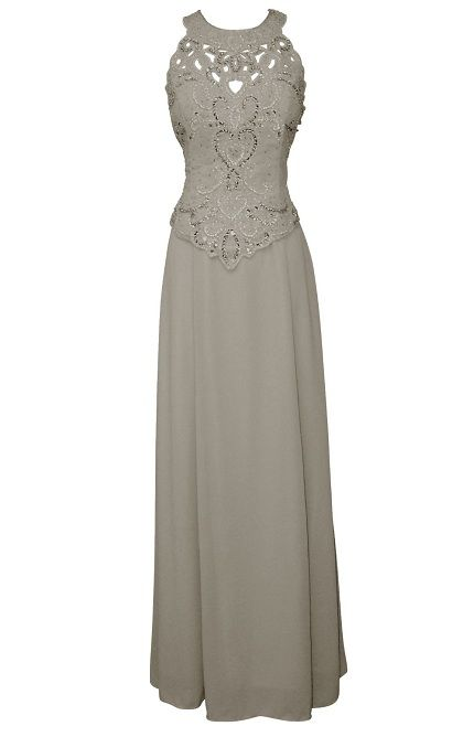Mother+Bride+Women+Size+Dresses | plus size mother of the bride silver plus size gowns / wish I had the figure for this dress
