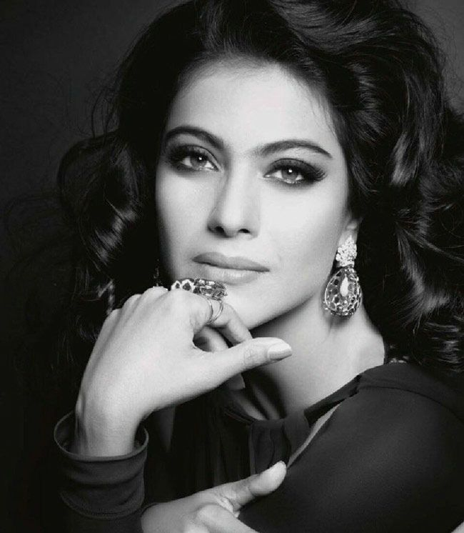 Kajol posing for Harper's Bazaar. #Bollywood #Fashion
