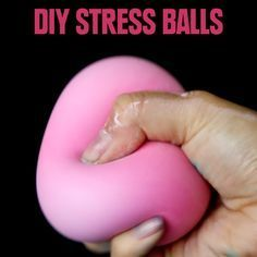 These DIY Stress Balls Will Keep Your Stress Under Control