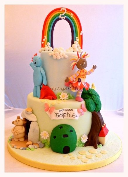 In the Night Garden - by Heavenly Angel Cakes @ CakesDecor.com - cake decorating website