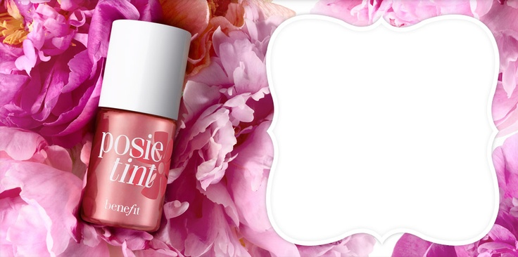 posie tint by benefit ... so uplifting!