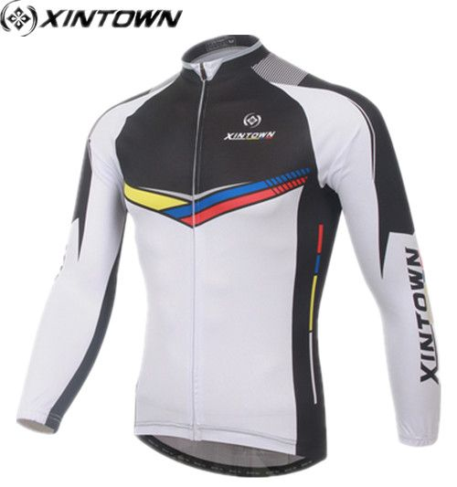 XINTOWN Pro cycling jersey Ciclismo Long Sleeve psg  Jersey Clothing cheap clothes china Maillots De Cyclisme MTB Equipment #Affiliate