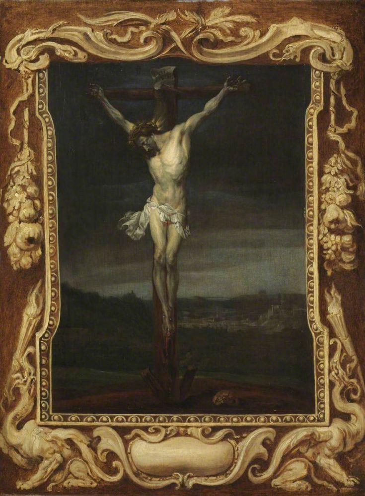 Антонис ван Дейк. Христос на кресте.  Христос на кресте Антонис ван Дейк 1632