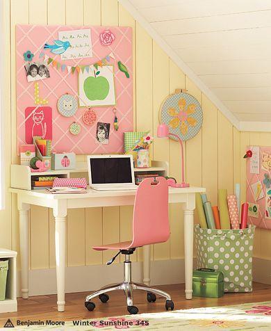 Girls desk | Girls Farmhouse Desk Pottery Barn Kids - Stylehive
