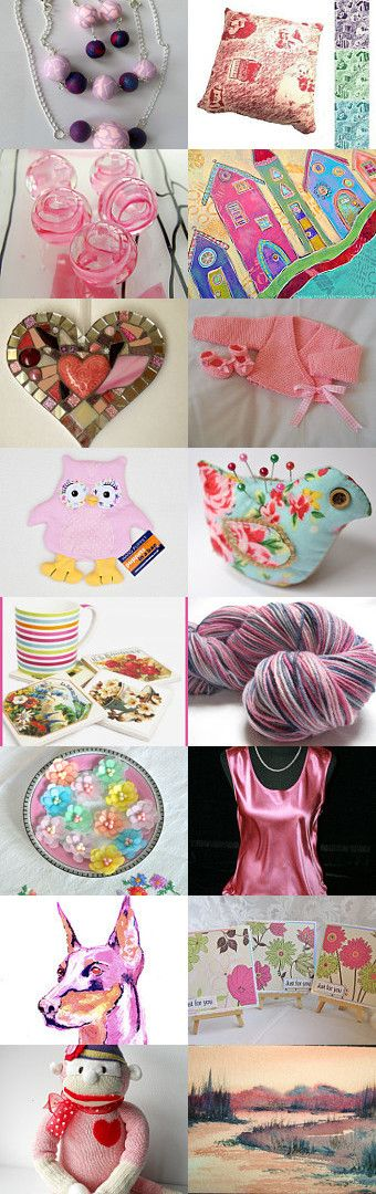 In the Pink by Carol Turner on Etsy--Pinned with TreasuryPin.com #etsyMIB