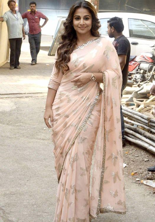Vidya Balan 'Hamari Adhuri Kahani' On The Sets Of 'Itna Karo Na Mujhe Pyar'