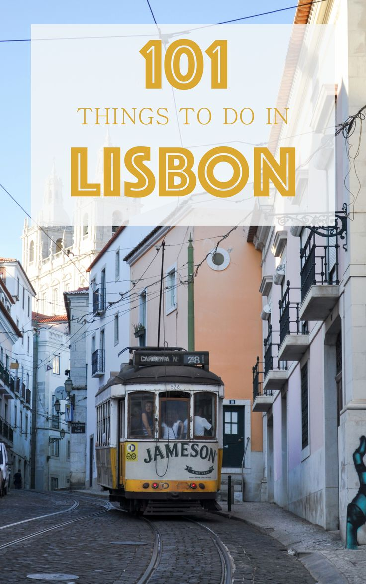 Here is a list of our favorite things to do in one of Europe's coolest capitals. Whether you have a few days or a few months, we hope you can experience all of the amazing sights, sounds and flavors of Lisboa.
