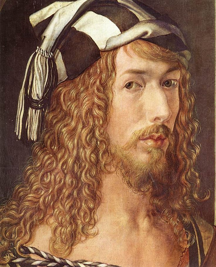 Albrecht Dürer - a fanatical perfectionist in his work who produced some of the greatest paintings and graphics in Deutsch history.