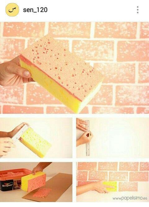 DIY Brick Paint